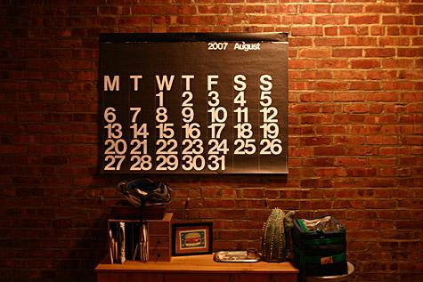 Stendig Calendar