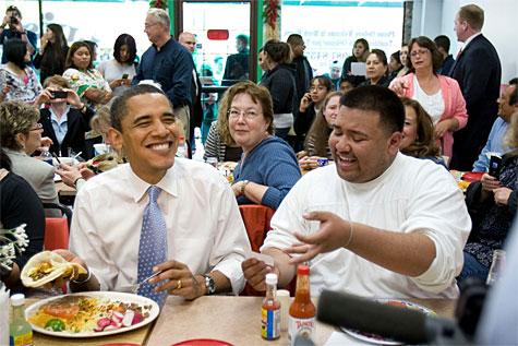 Obama Loves Tacos