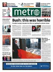 Metro Cover - 05/06/04
